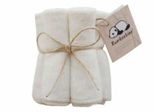 bamboobino baby washcloth in new baby gift bundle