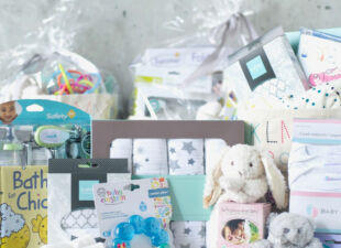 Build your own custom gift for new baby and new mom