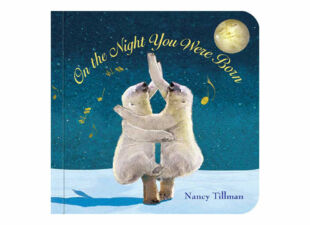 baby book in new baby gift bundle
