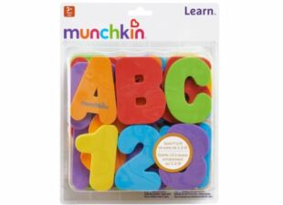 bath toy letters in baby gift bundle