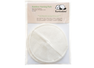 Bamboobino reusable breast pads in postpartum gift for news moms
