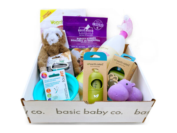 gift bundle for a new dog
