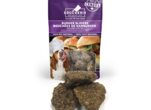 dog treats in gift bundle for new dog
