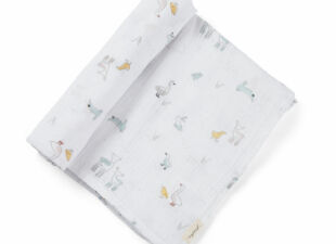 Swaddle Blanket in new baby gift bundle