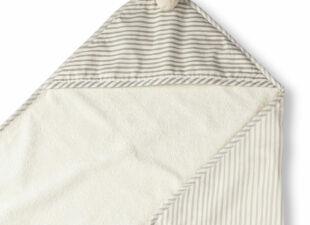 Bath towel in baby gift bundle